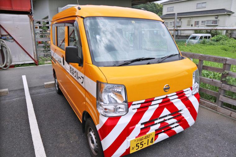 パトロール車
